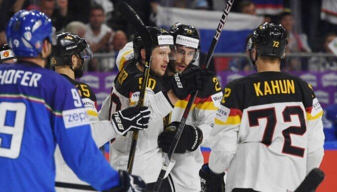 Vācija droši apspēlē Itāliju un gaida dueli pret Latviju