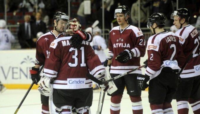 Латвия еще раз обыграла французов и завершила подготовку к ЧМ-2012