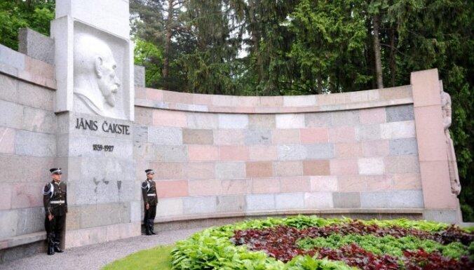 Čakstes 160 gadu jubileju Saeimā godinās ar atvērto durvju dienu