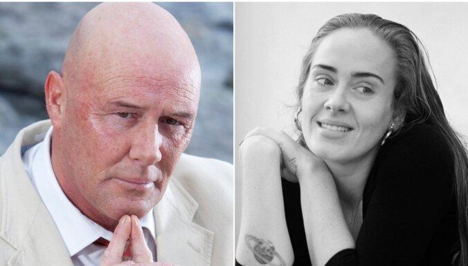 Nabadzībā no vēža miris dziedātājas Adeles tēvs