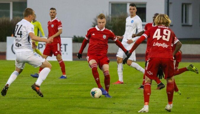 Noraidītas FK 'Liepāja' un RFS komandu apelācijas