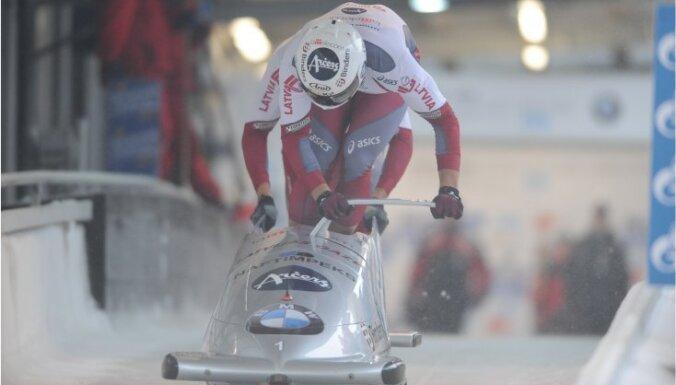 Eiropas kausa bobsleja un skeletona sacensībās Siguldā aicina klātienē izbaudīt 'bobsleja elpu'