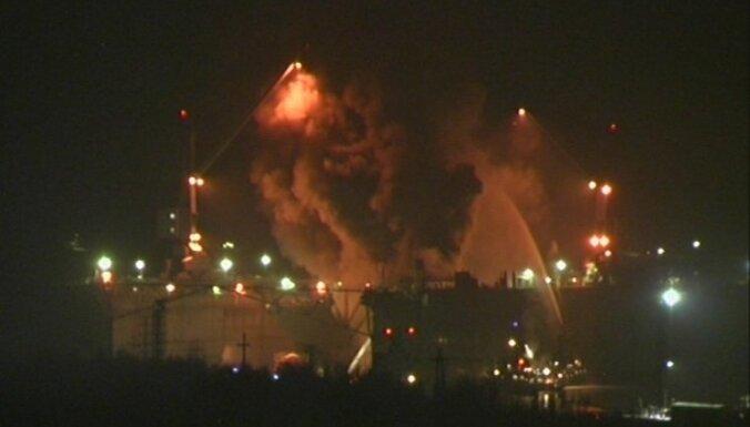 Krievijas atomzemūdenes ugunsgrēkā ievainoti deviņi ugunsdzēsēji