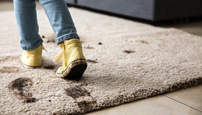 Lai mājoklis nav dubļos: radošas idejas apavu turētājiem