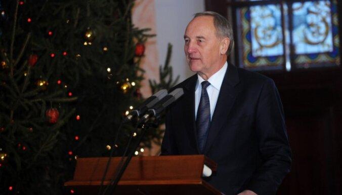 Valsts prezidents Jaunajā gadā novēl spēku, gribu, saticību un sapratni