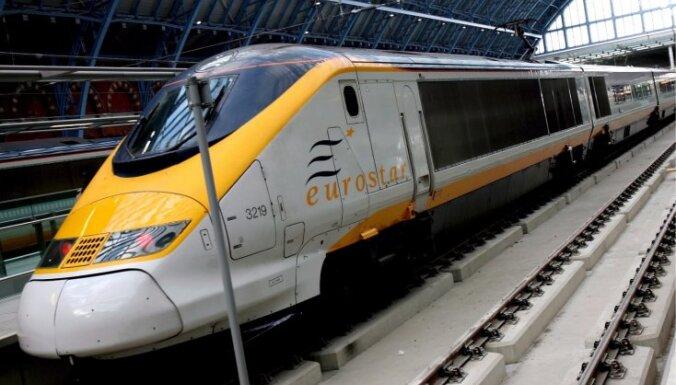 Ģenerālstreika dēļ pirmdien Beļģijā nekursēs vilcieni