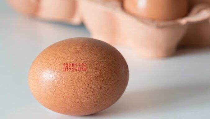 Pārtikas sargi atkal konstatē salmonellas Ukrainas izcelsmes olu produktā
