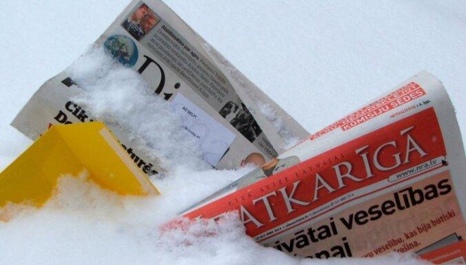 Visā Latvijā iespējami kavējumi pasta piegādē