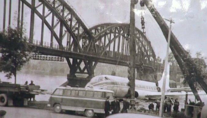 ВИДЕО. Как в 1963 году экипаж посадил на воду Ту-124, следовавший рейсом из Таллина