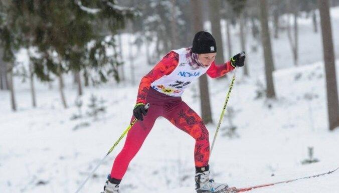Slēpotāja Eiduka ar FIS punktu rekordu iesāk jauno sezonu