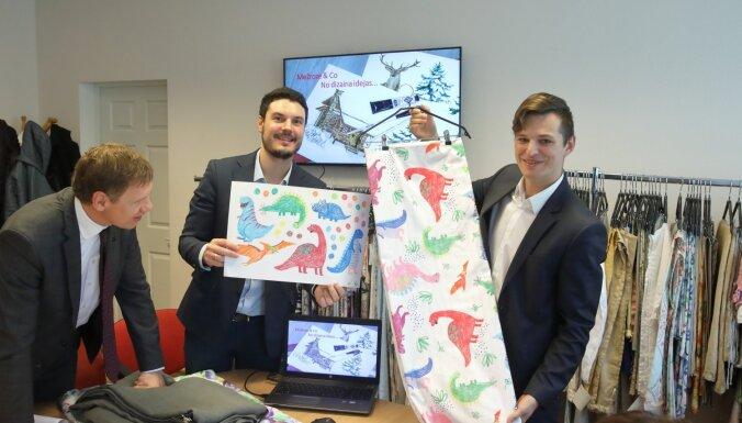 Rīgas tekstilrūpniecības uzņēmums lauž ceļu audumu digitālās drukas tirgū