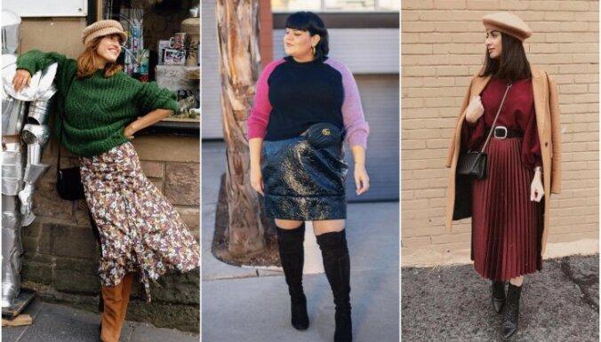 Katram auguma tipam – kā stilīgi un atbilstoši tērpties svārkos