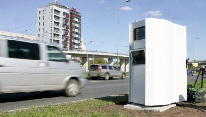 Pusotra mēneša laikā uz Latvijas ceļiem parādījušies četri jauni stacionārie fotoradari