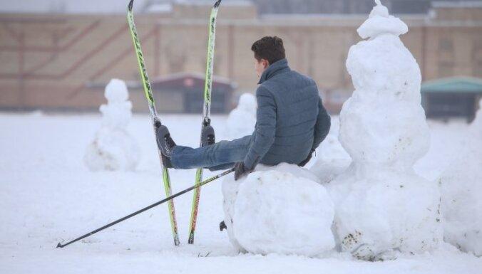 Ziemas atpūtas kompleksi vēl cer uz aukstumu tuvākajās nedēļās