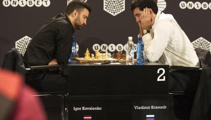 Igor Kovalenko, Vladimir Kramnik, chess