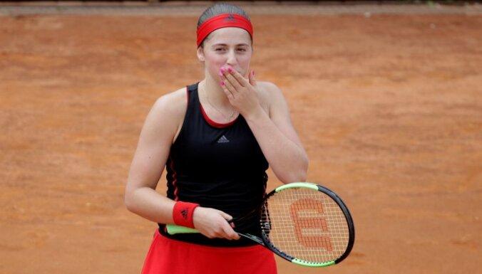 Остапенко победила первую ракетку Великобритании и вышла в четвертьфинал в Риме