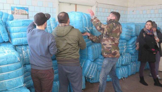 NBS nogādā labdarības sūtījumu Ukrainai
