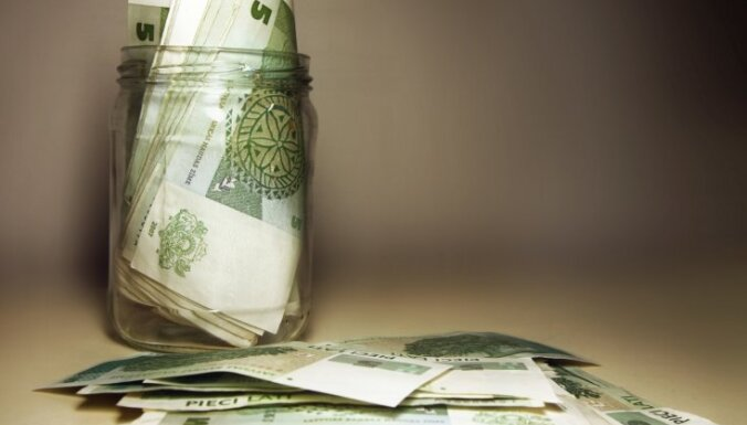 В госбюджете за десять месяцев образовался профицит в 278 млн. латов