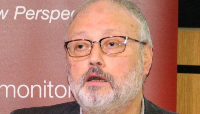 Saūda Arābija plānoja pazudušo žurnālistu Hašogi aizvilināt atpakaļ uz karalisti
