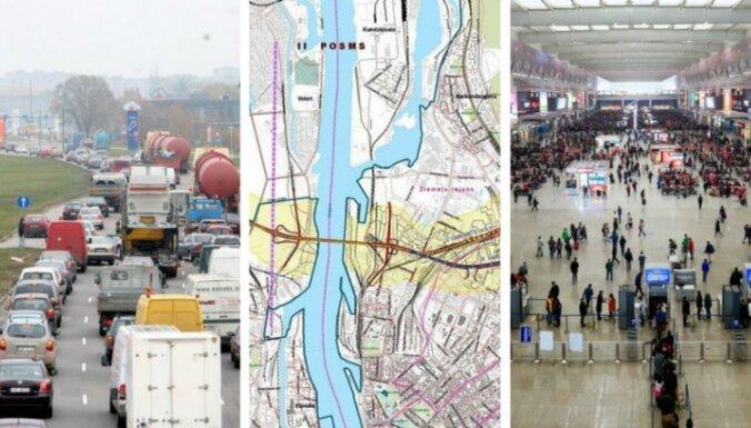 """24 января. Автоналог по-новому, когда в Риге построят Северный коридор, проект """"Поуехали"""""""