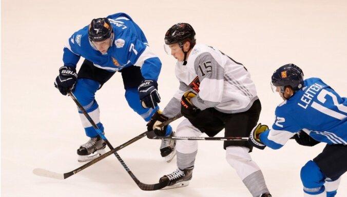 Ziemeļamerikas hokeja talanti Pasaules kausā sakauj Somiju