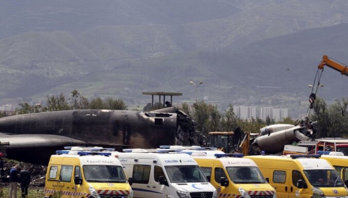 ĀM izsaka līdzjūtību Alžīrijai saistībā ar militārās lidmašīnas avāriju