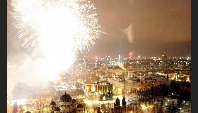 Jaunā gada sagaidīšana Rīgā