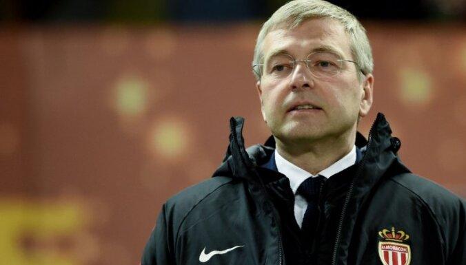 Futbola kluba 'Monaco' īpašnieks, krievu miljardieris Ribolovļevs aizturēts aizdomās par korupciju