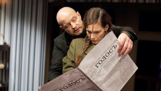 Foto: Dailē pirmizrādi piedzīvos Gruzdova iestudētais Dostojevska garstāsts 'Lēnprātīgā'