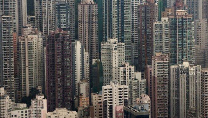 Банкир спрыгнул с крыши небоскреба в Гонконге