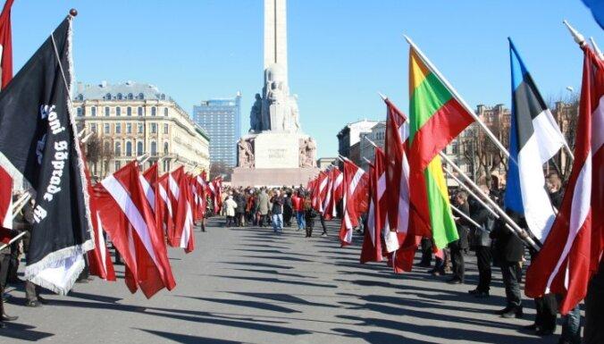 Rīgas dome šoreiz neierobežos 16.marta pasākumus