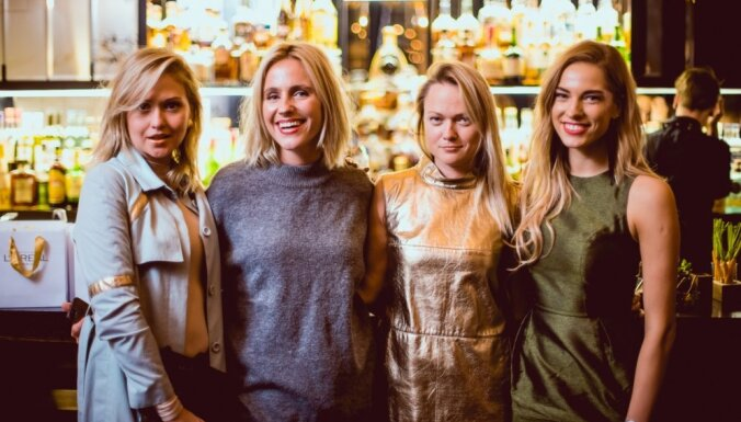 Foto: Kā modes dāmas mirdzēja 'L'Oréal Paris' prezentācijā