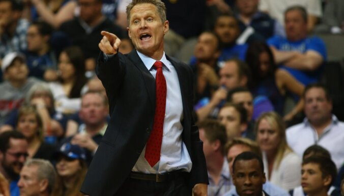 Steve Kerr, coach Golden State Warriors