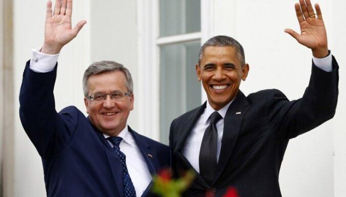 Обама и Коморовский — за повышение расходов на НАТО в Европе