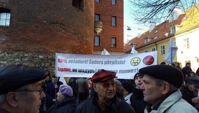 В Риге прошел пикет против реформы русских школ