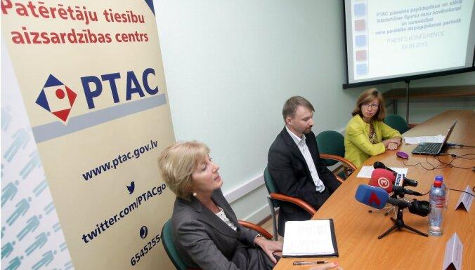 Patērētāju sargi no tirdzniecības atsauc atstarotāju ar latvju rakstu zīmēm