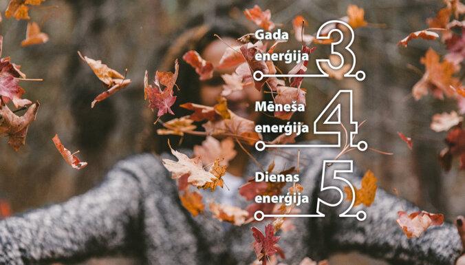 19. oktobra numeroloģiskais dienas fons