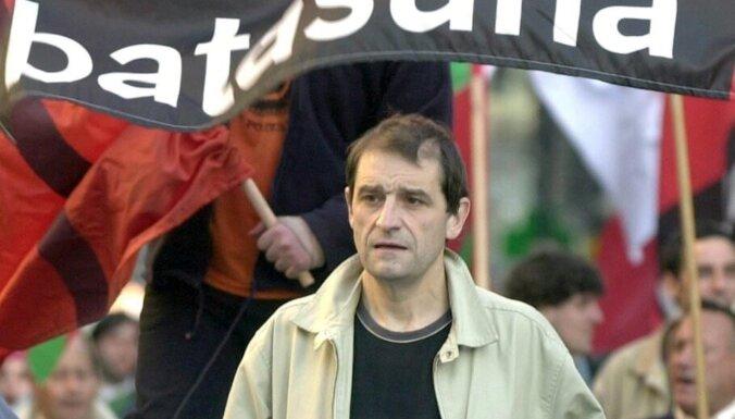 Francijā aiztur 17 gadus vajāto ETA līderi Terneru