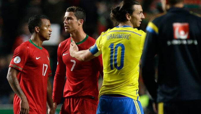 Хет-трик Роналду перевесил дубль Ибрагимовича: Португалия — на ЧМ