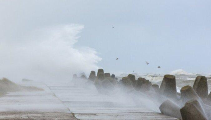 Самый сильный ветер в субботу будет на севере страны