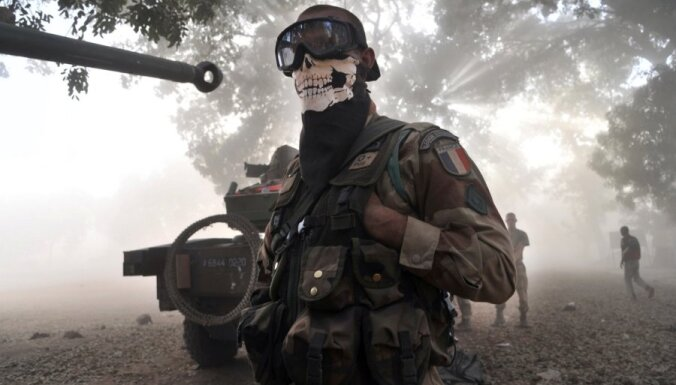 Французские войска берут под контроль города в Мали