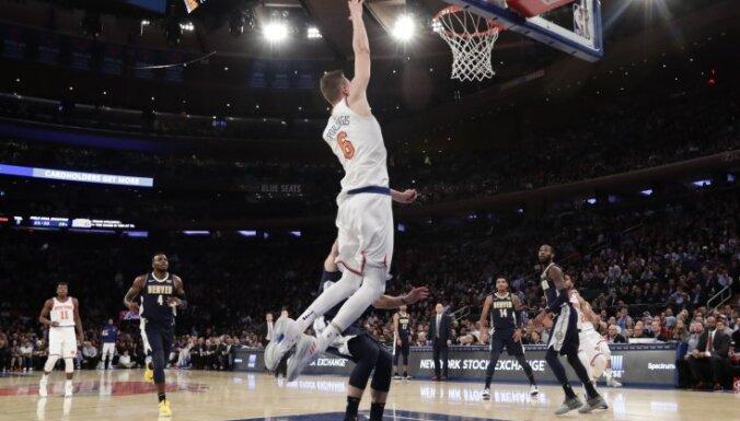 """Порзингис """"зажигает"""": латвийский форвард установил личный рекорд результативности в НБА"""