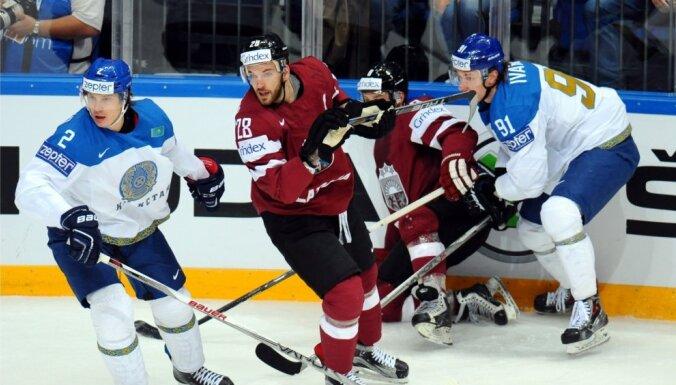 Сборная Латвии выиграла битву за выживание у Казахстана