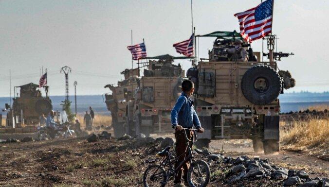 ASV noslēgušas spēku atvilkšanu no Sīrijas ziemeļiem, paziņo Espers