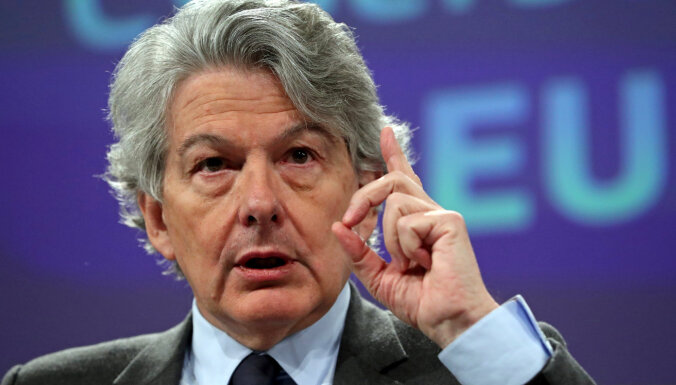 Brīvais tirgus ir ES solidaritātes mugurkauls, kas jāsaglabā, uzsver komisārs Bretons
