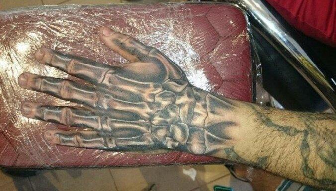 Edgars Toretto, tetovējums