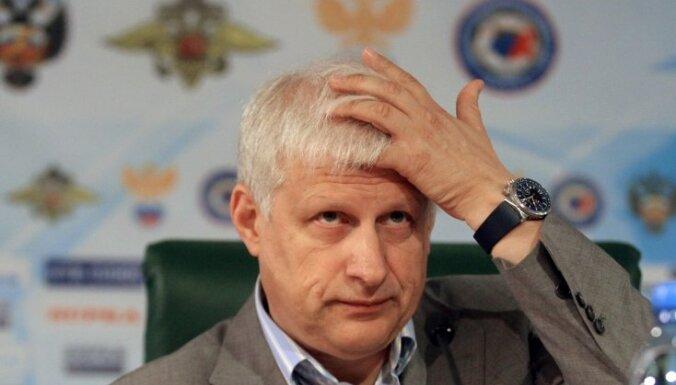Сегодня должны отправить в отставку главу российского футбола