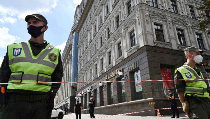 Drošības spēki Kijevā aiztur ķīlnieku sagrābēju