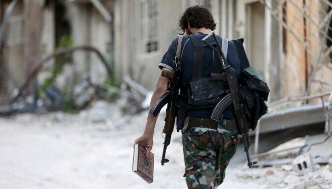 'Islāma valsts' pret kurdu spēkiem Sīrijā pielietojusi ķīmiskos ieročus
