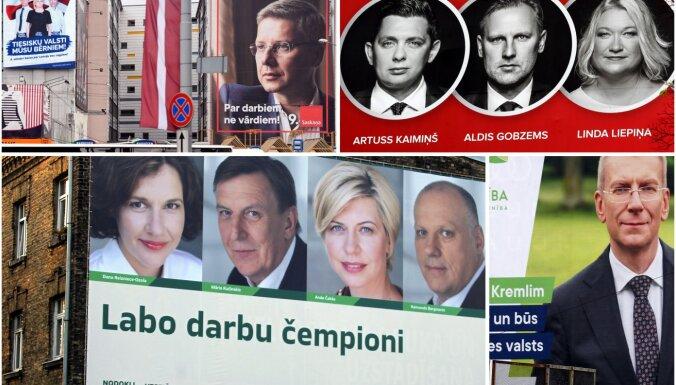 Политическим партиям доверяют всего 6% жителей Латвии